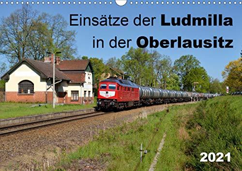 Einsätze der Ludmilla in der Oberlausitz 2021 (Wandkalender 2021 DIN A3 quer)