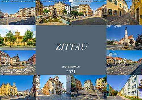 Zittau Impressionen (Wandkalender 2021 DIN A2 quer)