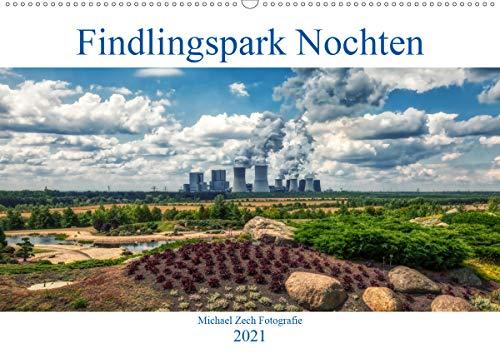Der Findlingspark in der Lausitz (Wandkalender 2021 DIN A2 quer)