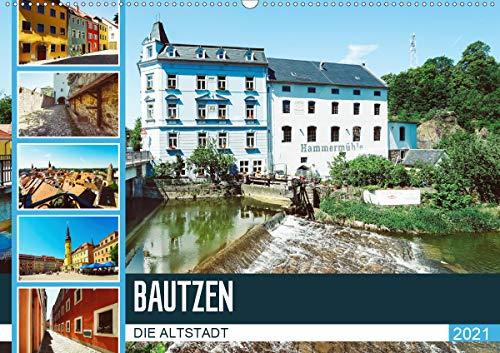 Bautzen Die Altstadt (Wandkalender 2021 DIN A2 quer)