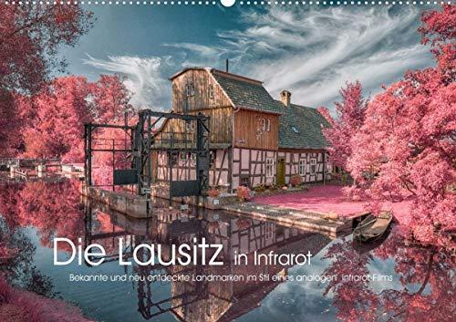 Die Lausitz in Infrarot (Wandkalender 2021 DIN A2 quer)