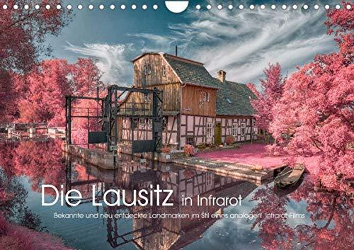 Die Lausitz in Infrarot (Wandkalender 2021 DIN A4 quer)