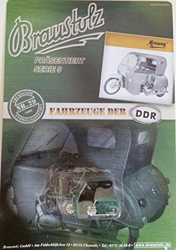 DDR PKW-Modell - Brauerei Braustolz - Simson Krause Duo - Nr. 29