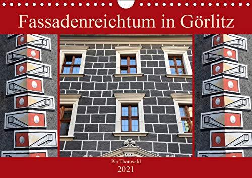 Fassadenreichtum in Görlitz (Wandkalender 2021 DIN A4 quer)