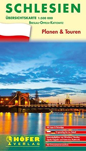 Übersichtskarte Schlesien - PL 111: Planen & Touren - Breslau-Oppeln-Kattowitz