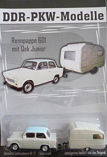 DDR PKW-Modell - Trabi 601 mit Qek junior