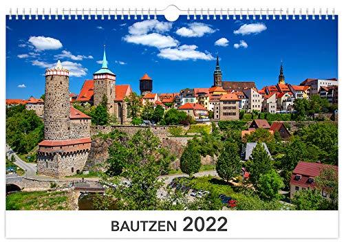 Kalender Bautzen 2022: 45x30cm