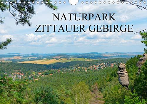 Naturpark Zittauer Gebirge (Wandkalender 2020 DIN A4 quer): Ausblicke im Dreiländereck (Monatskalender, 14 Seiten ) (CALVENDO Orte)