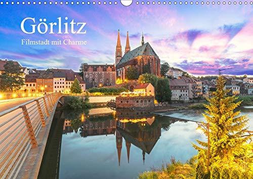 Görlitz - Fimstadt mit Charme (Wandkalender 2020 DIN A3 quer): GÖRLIWOOD, eine der besterhaltenen Städte Deutschlands, mit Charme und romantische ... (Monatskalender, 14 Seiten ) (CALVENDO Orte)