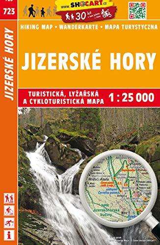 Jizerské hory / Isergebirge (Wander - Radkarte 1:25.000) (SHOCart Wander - Radkarte 1:25.000 Tschechien, Band 723)