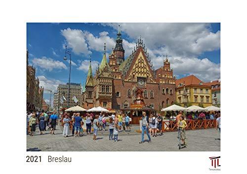 Breslau 2021 - White Edition - Timokrates Kalender, Wandkalender, Bildkalender - DIN A3 (42 x 30 cm)