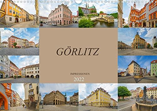 Görlitz Impressionen (Wandkalender 2022 DIN A3 quer)