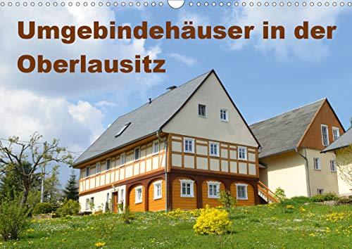 Umgebindehäuser in der Oberlausitz (Wandkalender 2021 DIN A3 quer)