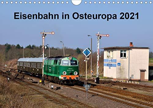 Eisenbahn Kalender 2021 - Oberlausitz und Nachbarländer (Wandkalender 2021 DIN A4 quer)