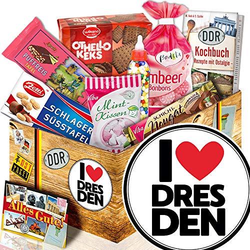 I love Dresden - Ostbox Süßigkeiten - Dresden Geschenkidee