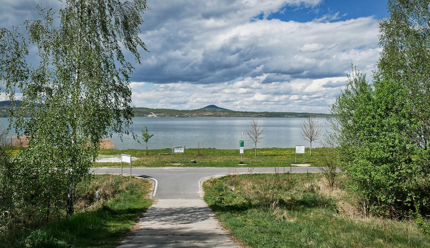 Badestrand Halbinsel Berzdorfer See