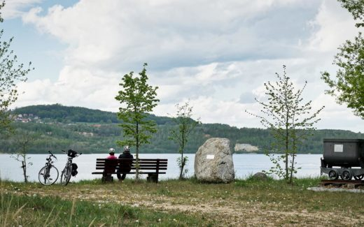 0010 Berzdorfer See Radfahren
