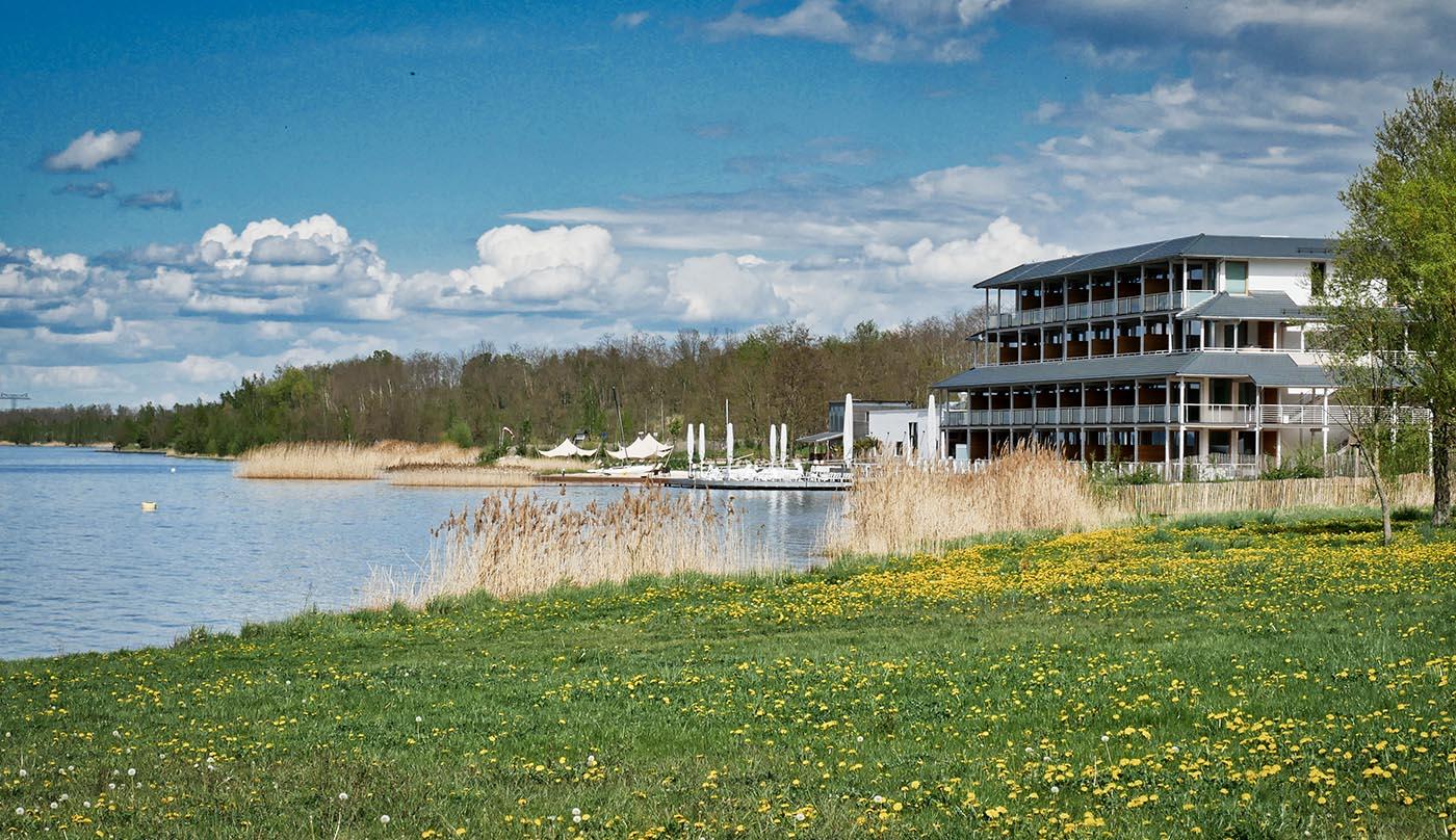 0011 Berzdorfer See Insel der Sinne ansicht