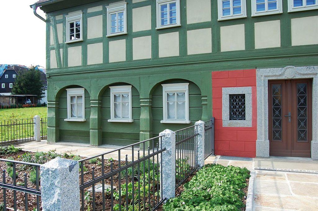 1200px Umgebindehaus Ernst Thaelmann Strasse 42 Neugersdorf 4