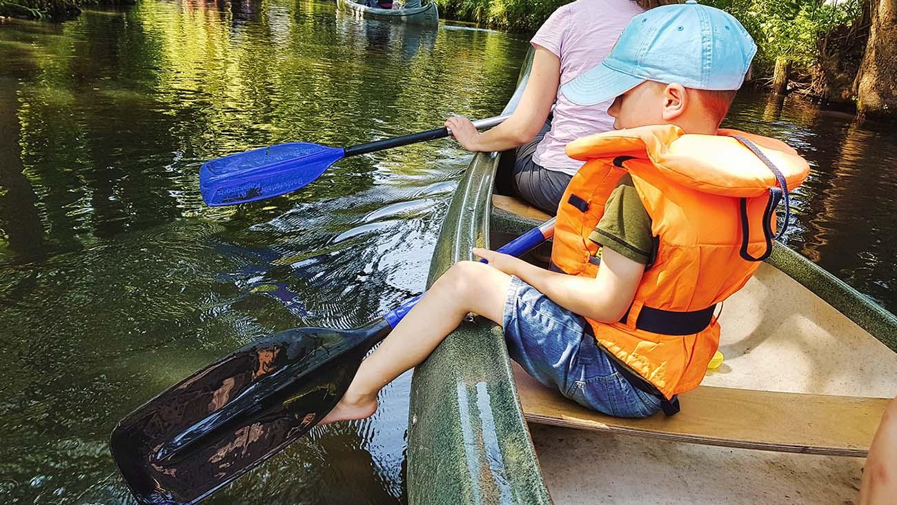 1 0009 Spreewald paddeln mit familie