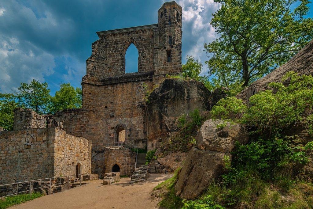 Oybin Burg Kloster