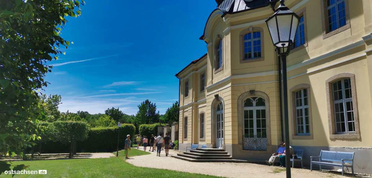 Schloss Koenigshain Einblicke Eingang