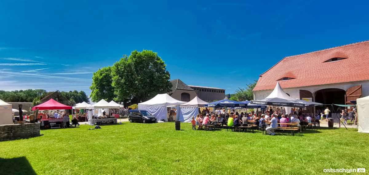 Schloss Koenigshain Einblicke Kunstmarkt 003