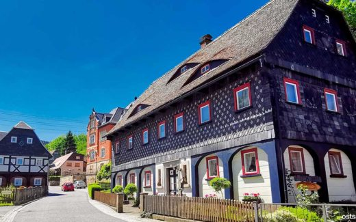 Waltersdorf, Zittauer Gebirge an der Lausche
