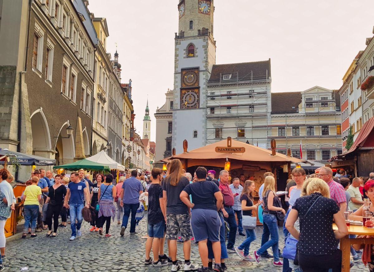 Altstadtfest Goerlitz Untermarkt