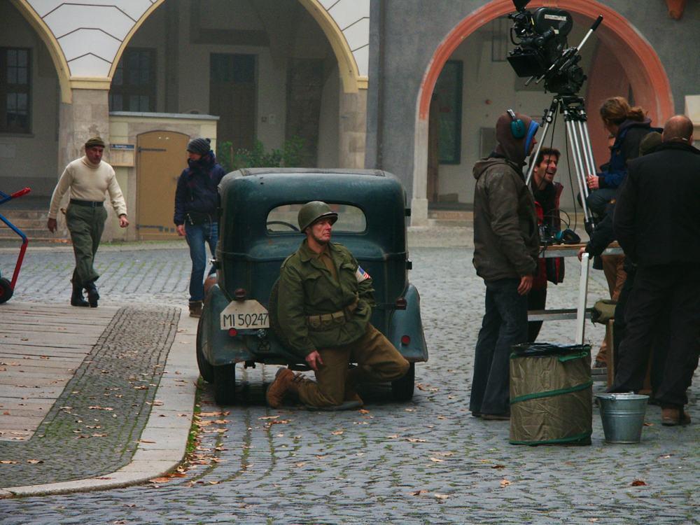 Görliwood, Untermarkt Görlitz Dreharbeiten Filmstadt