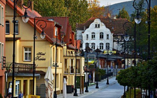 Stadtbild Bad Flinsberg