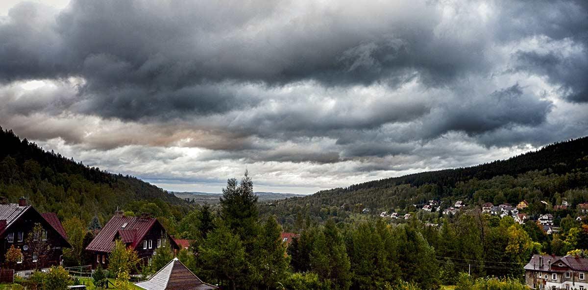 Blick auf Bad Flinsberg