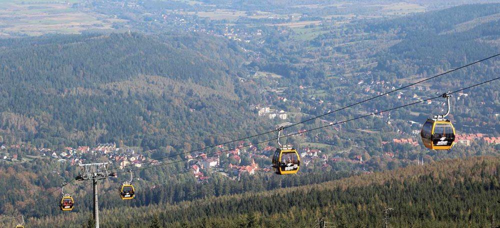 Seilbahn auf den Heufuder in Bad Flinsberg
