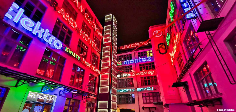 Neonside wroclaw kunst