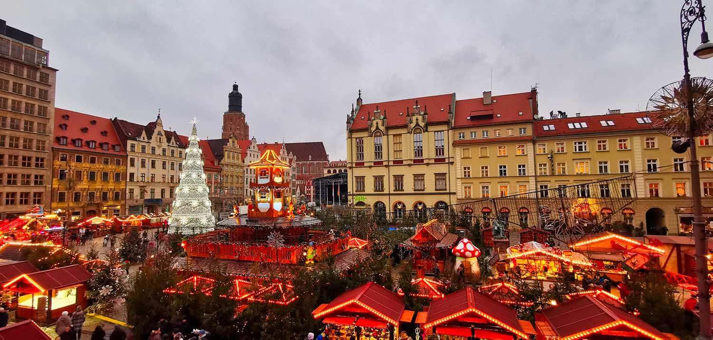 Breslau ein mittelalterlichen Marktplatz