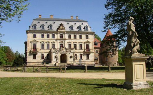 Schloss in Altdöbern in Brandenburg