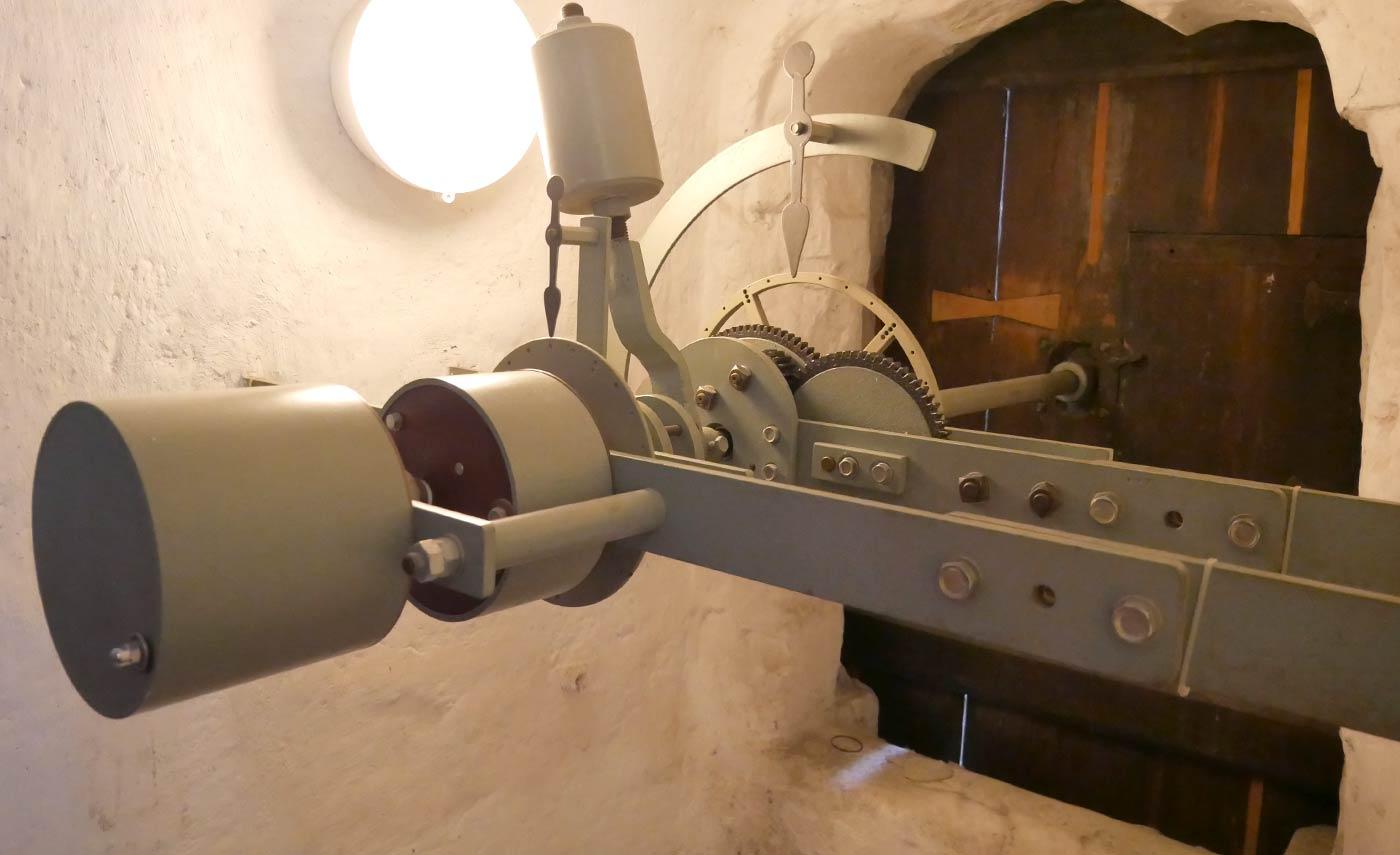 Antrieb der Monduhr am Rathausturm Goerlitz