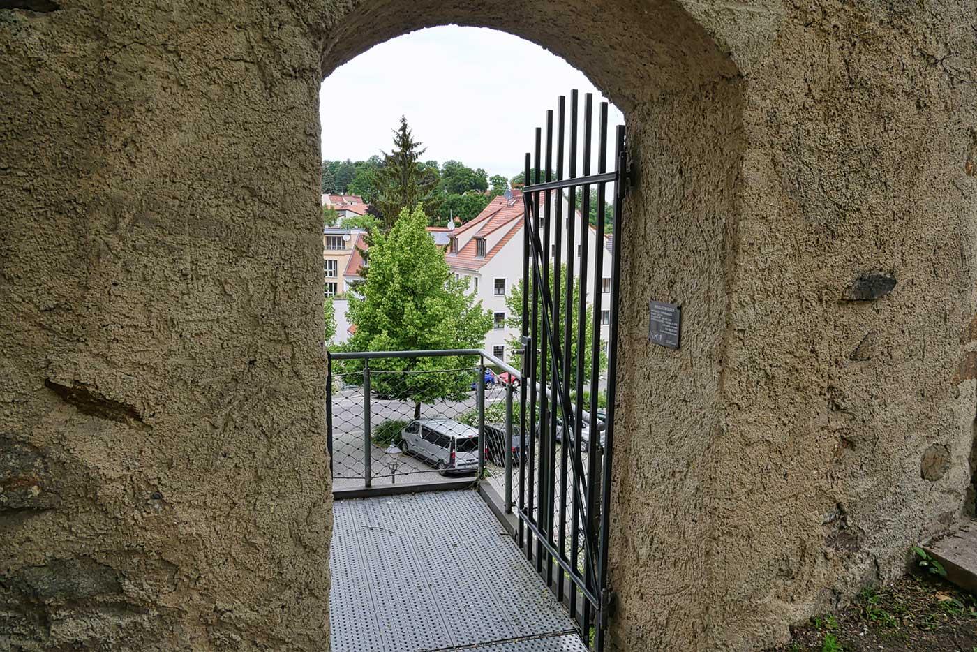 Ausgang Nikolaizwinger am Hotherturm