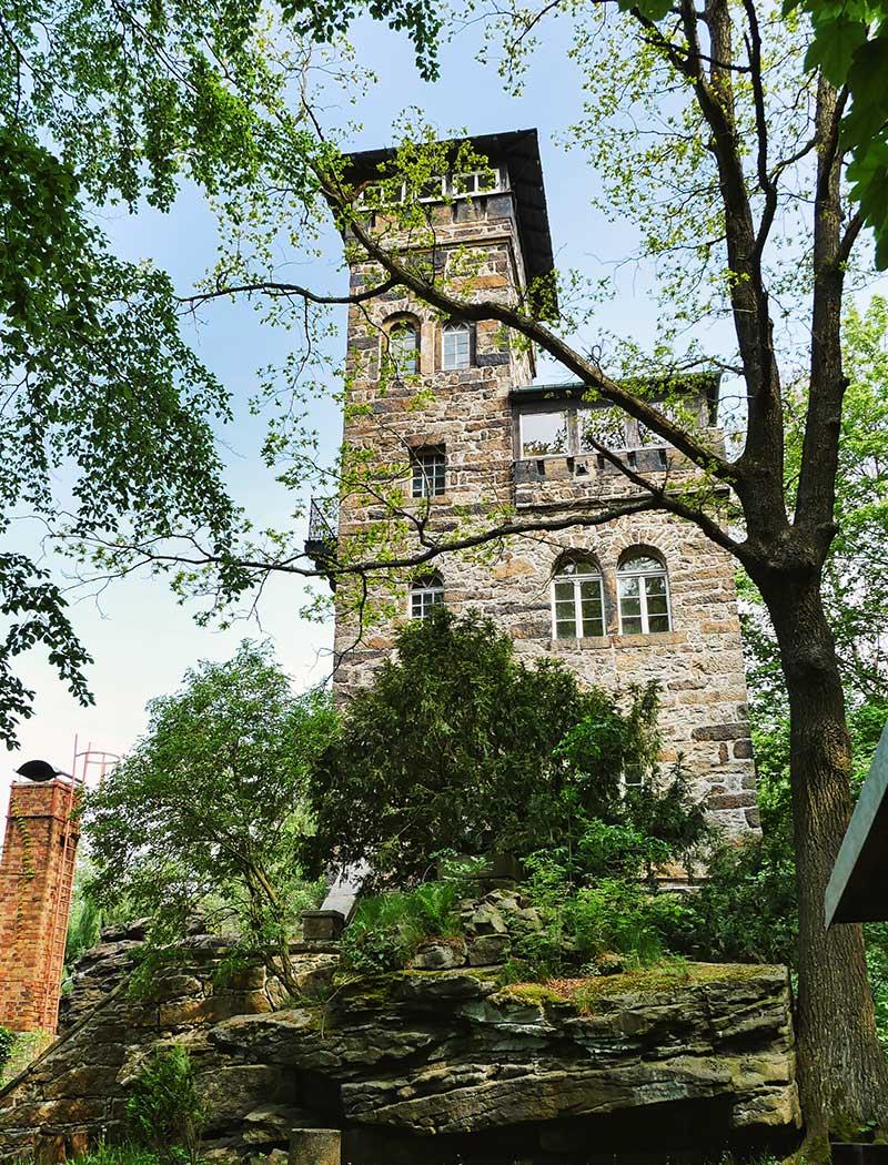 Aussichtsturm Czorneboh Turm
