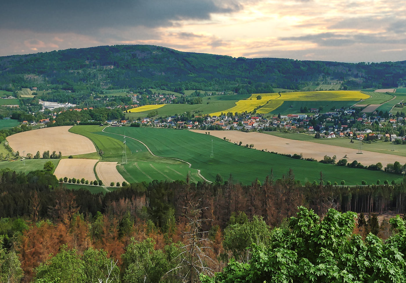 Berg Czorneboh Oberlausitz