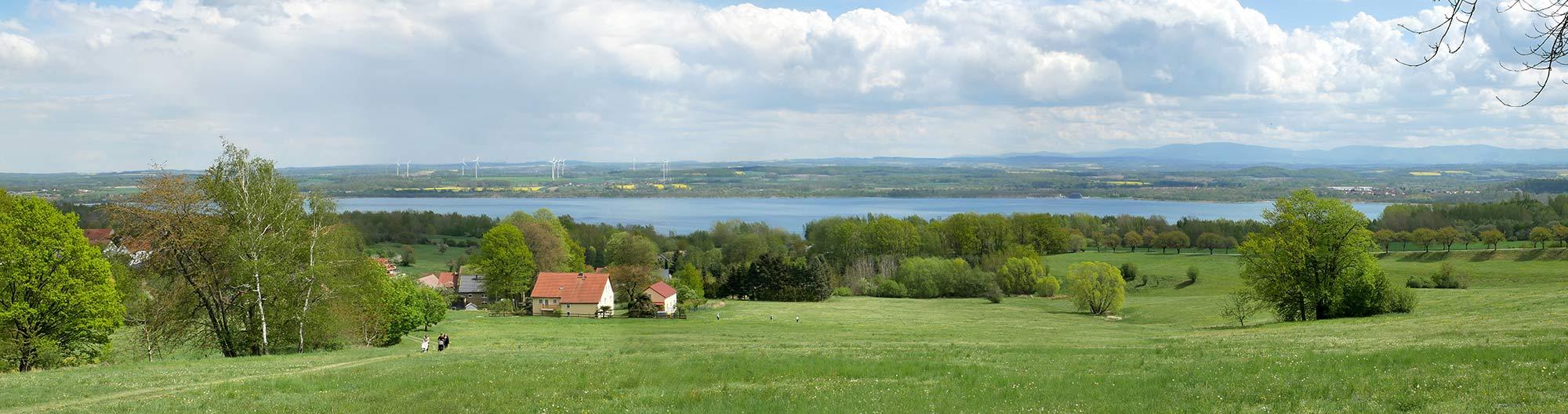 Berzdorfer See Ansicht gesamt