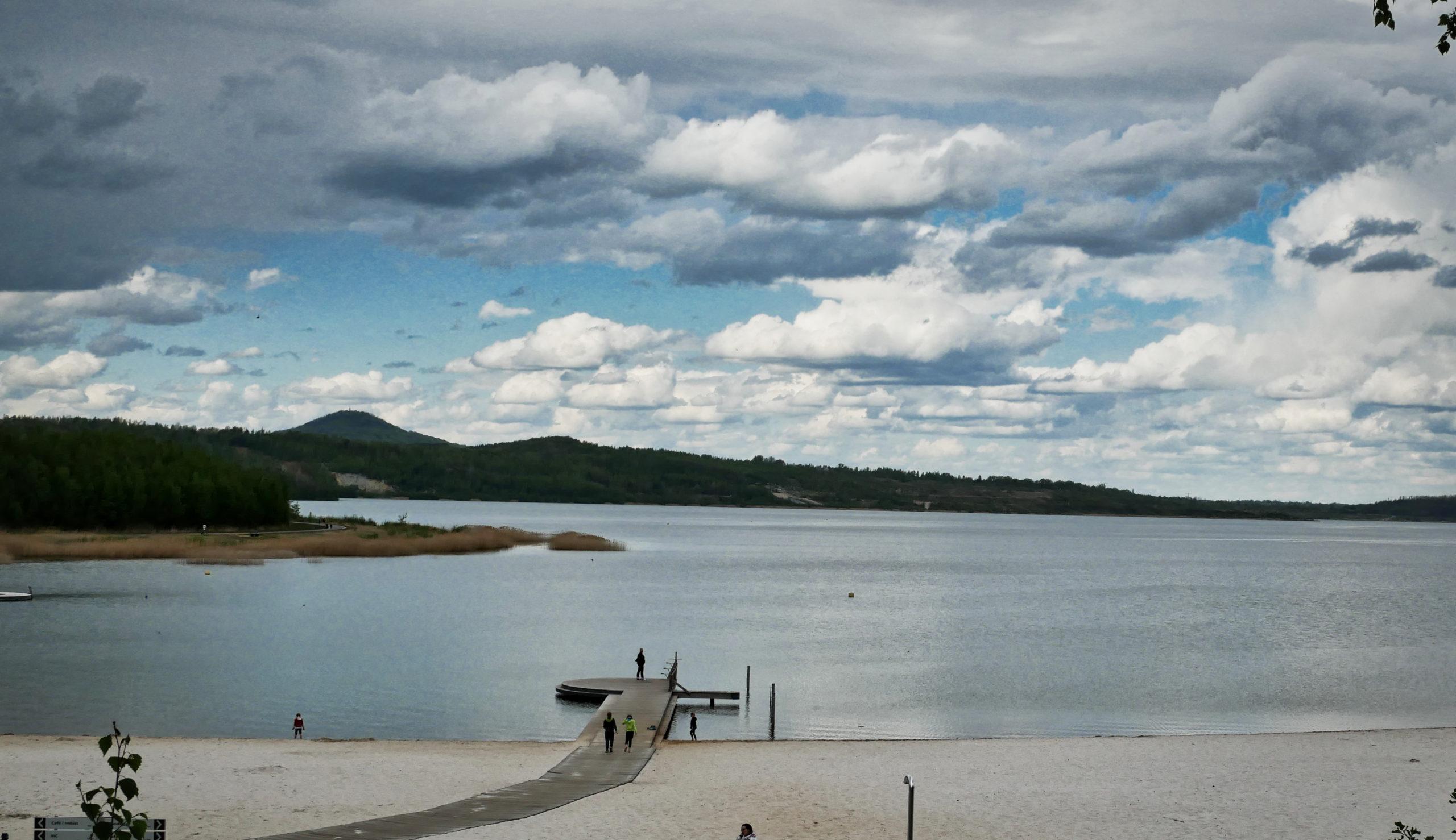Berzdorfer See Blaue Lagune Strand scaled