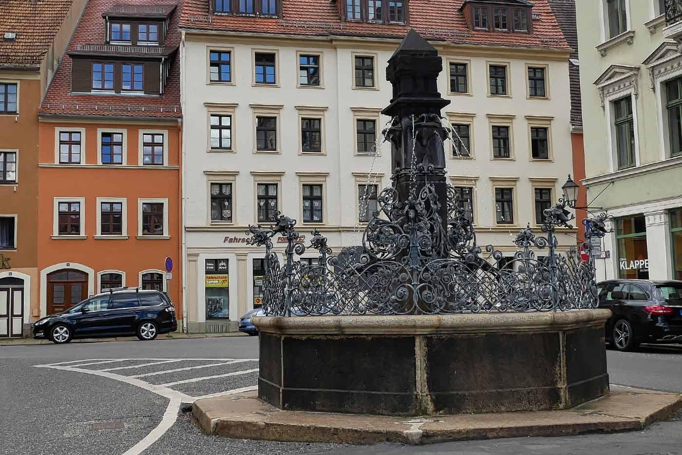 Brunnen Klosterplatz Goerlitz