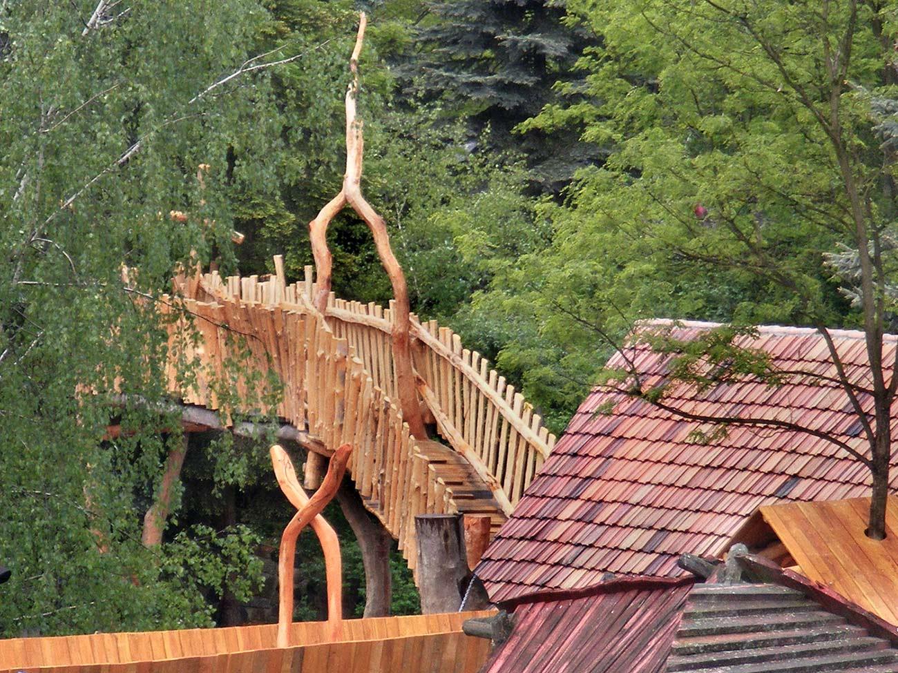 Dachwanderwege in Turisede