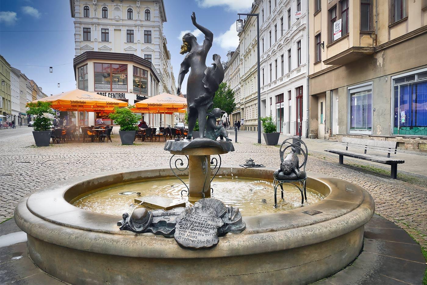 Die Tanzende Brunnen Berlinerstrasse Goerlitz Bild2