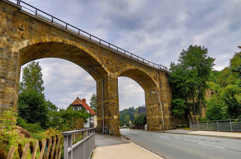 Viadukt in Ebersbach