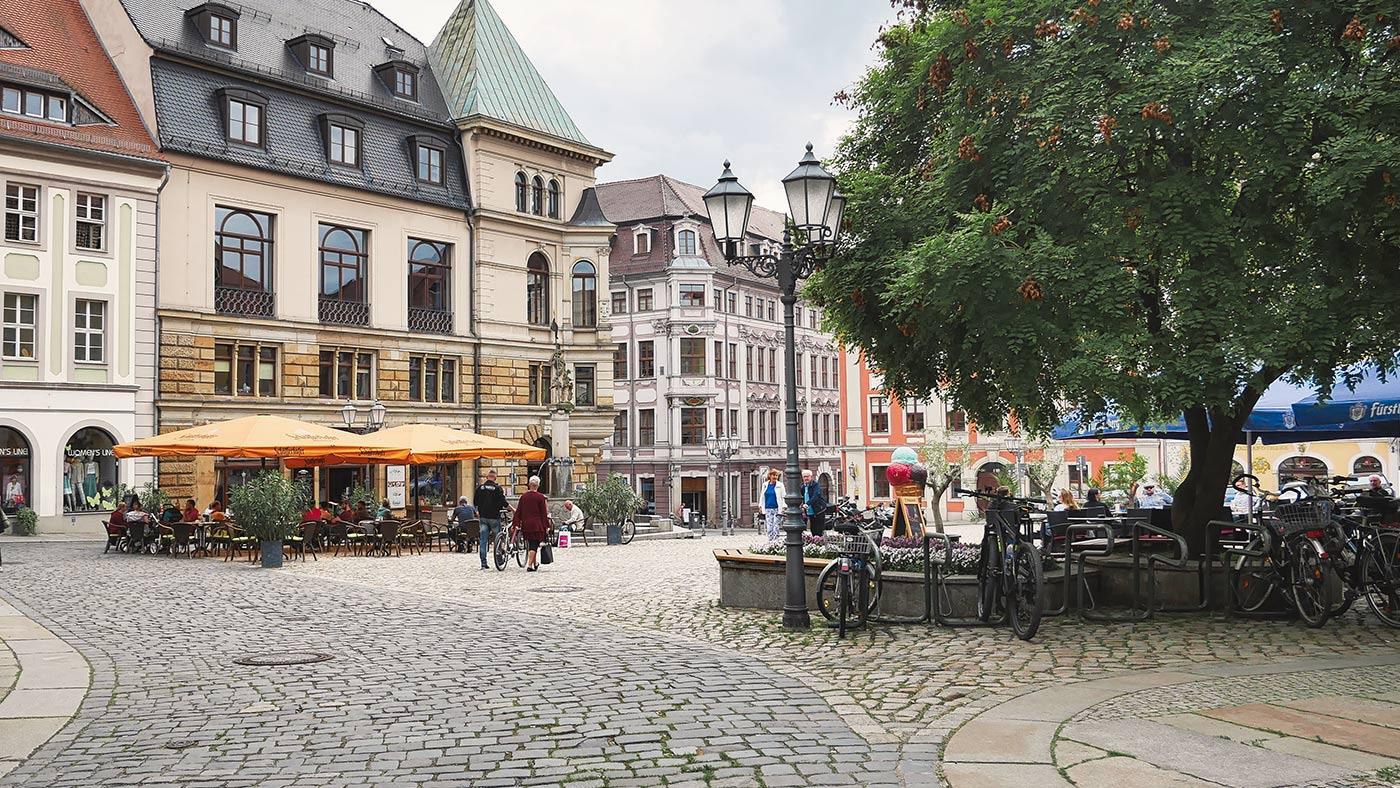 Fahrradtour durch Innenstadt Bautzen