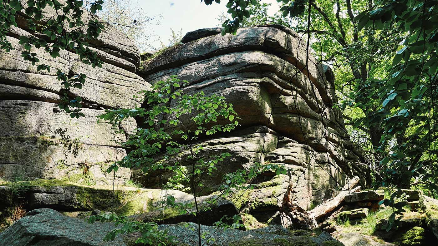 Felsen Koenigshainer Berge