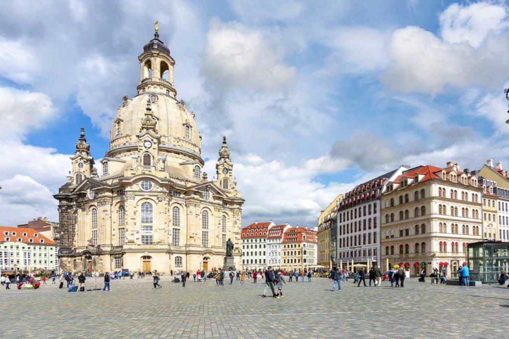 Frauenkirche Dresden Aussen Neumarkt