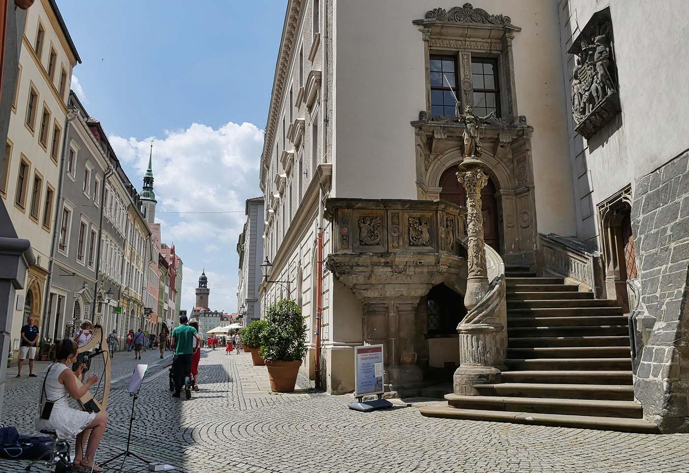 Goerlitzer Justitia Untermarkt